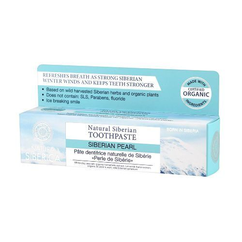 Natura Siberica Dentífrico Siberian Pearl 100gr