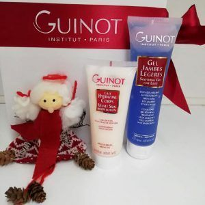 Guinot Cofre Hydrazone Corps Laite y Gel Jambes Légères